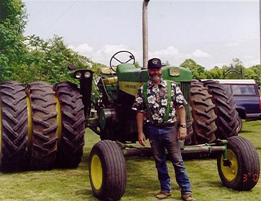 JD 730 Diesel Tractor with Triples